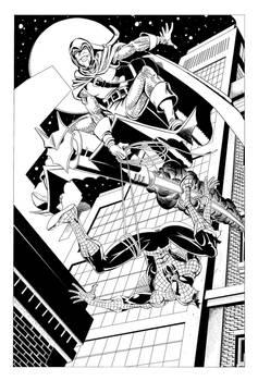 Inking-Spiderman