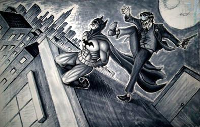A Bat day for Batman - Joker by B4ucjp
