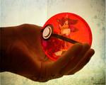 Commission- The Romantic Hedgehog Pokeball