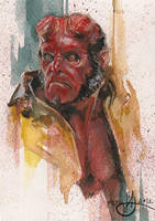 Hellboy by DimRasha