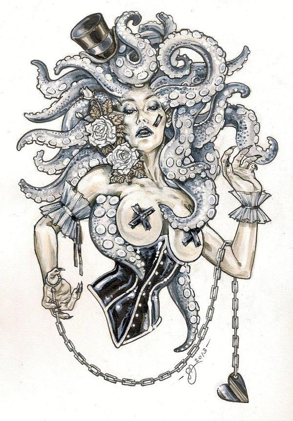 Octopussy by DimRasha