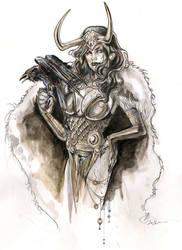 Lady Loki by DimRasha