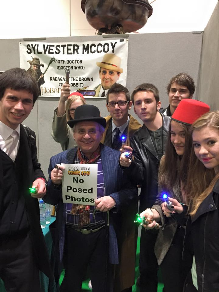 Me, the Doctors and Sylvester McCoy by tulf42