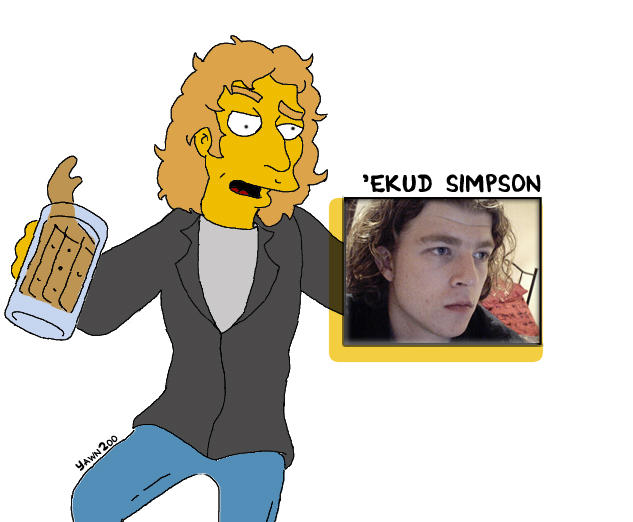 Ekud Simpson by yawn2oo