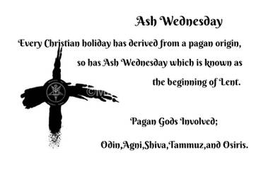 Ash Wednesday by MSOwolf