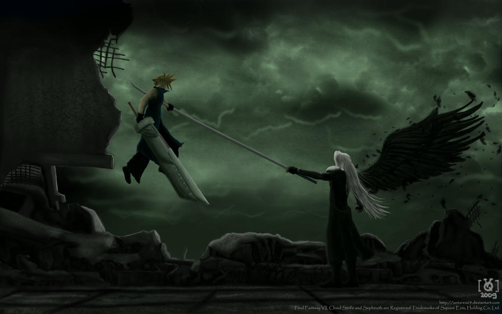 One Winged Angel by Antares69 on DeviantArt One Winged Angel Sephiroth
