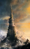 Tower of Van Deru Mole by Antares69