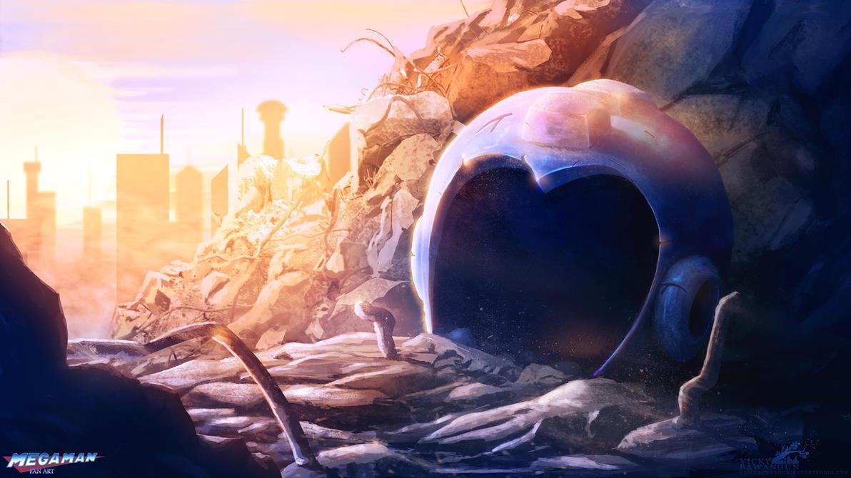 Megaman 1987-???? by Antares69