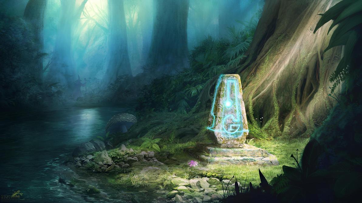 Mana Shrine by Antares69