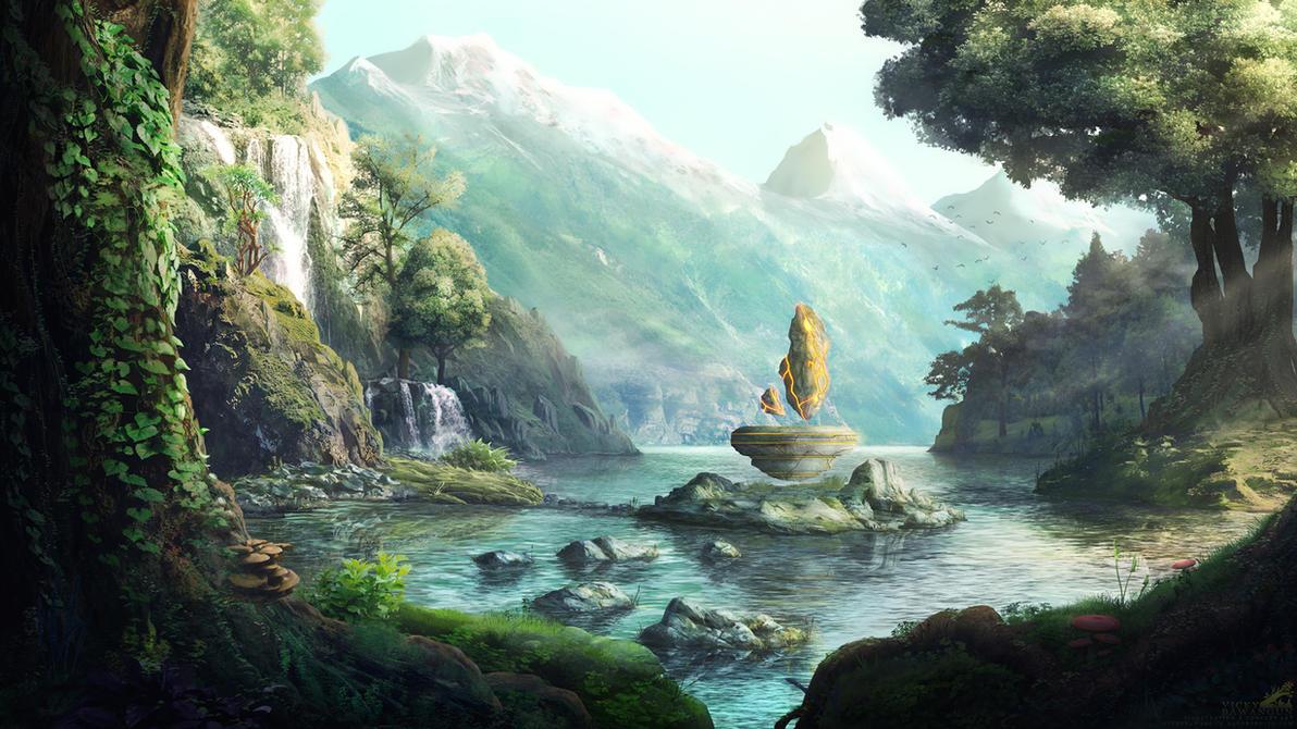 Power Shrine by Antares69