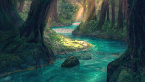 Forest River by Antares69