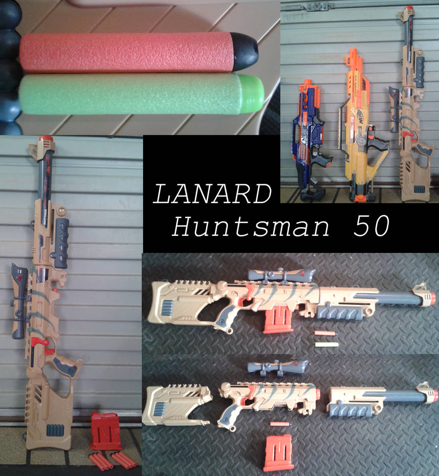 Not-Quite-Nerf: Lanard Huntsman 50 Review by Cascadejackal on DeviantArt