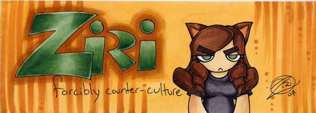 -+-Forcibly Counter-culture-+- by zirio