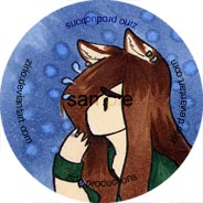 Distressed Mika 1' button by zirio