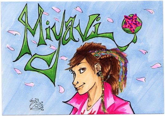 -+-Miyavi badge-+- by zirio