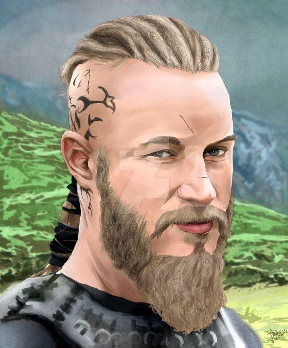 Ragnar Lodbrok by xXRakeshRawrrXx