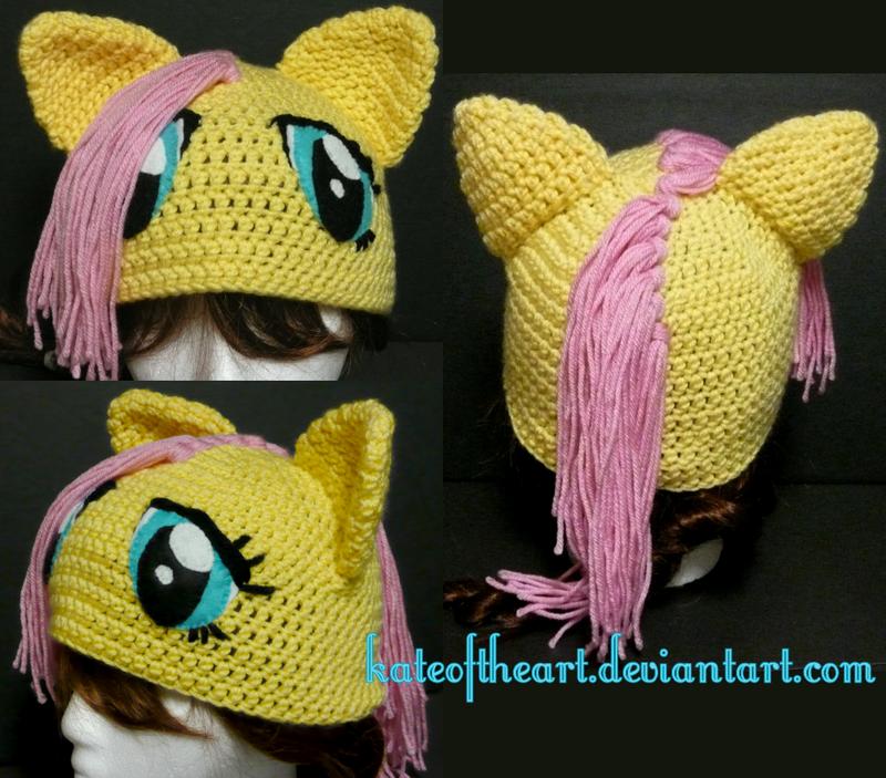 Fluttershy Hat By Kateoftheart On Deviantart