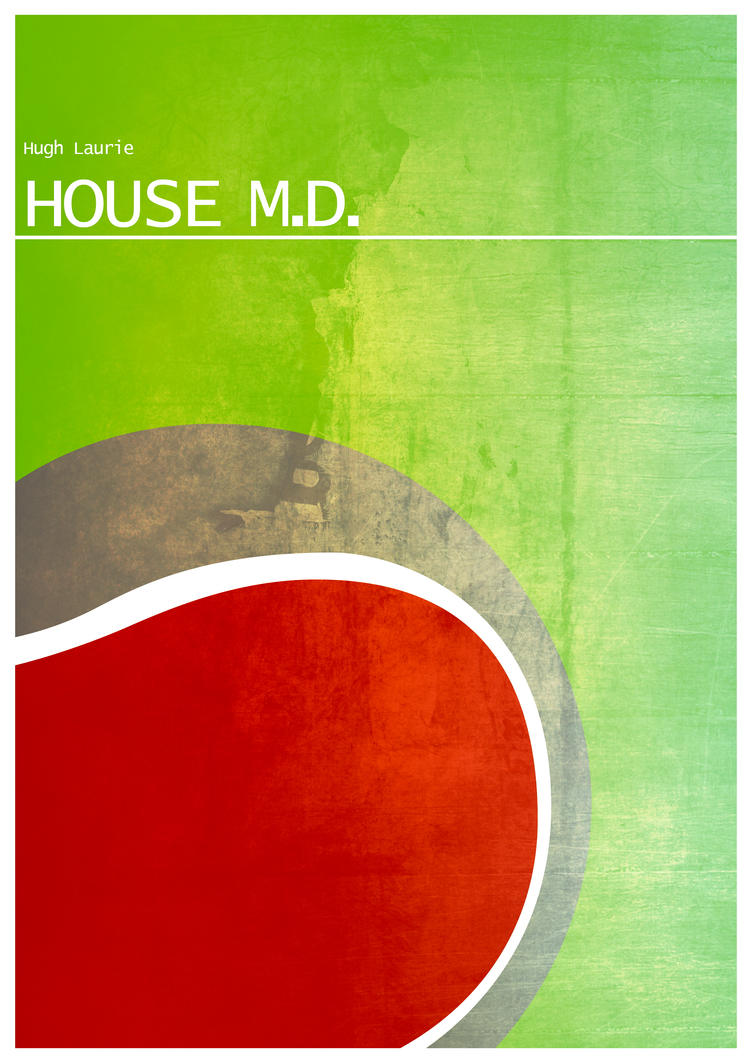 House M.D. minimalist poster by BlueWizardCz