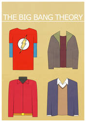 The Big Bang Theory Poster by BlueWizardCz