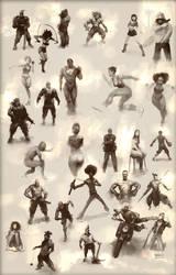 Figurative Sketch Compilation