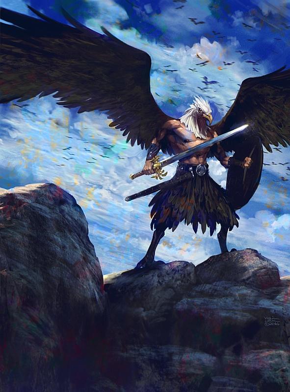 Eagle Warrior by MrDream on DeviantArt