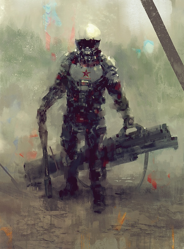 China's Rocket Soldier by MrDream