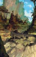 Lizard Watch by MrDream