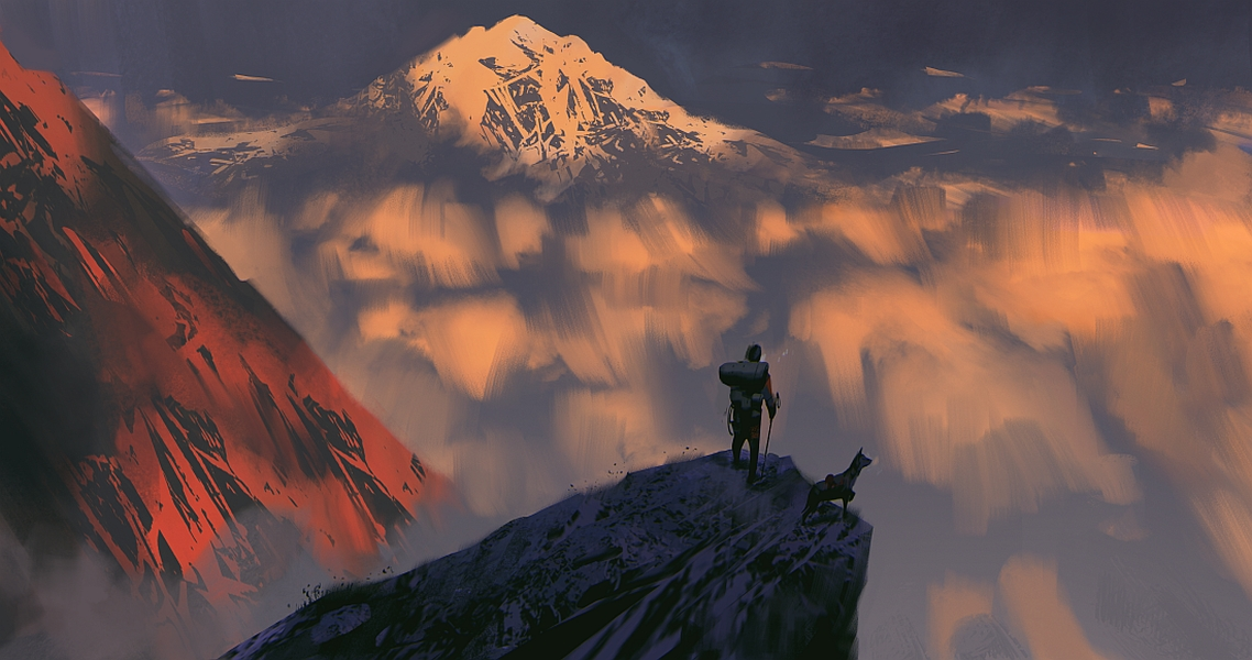Blizzard Mountain by MrDream