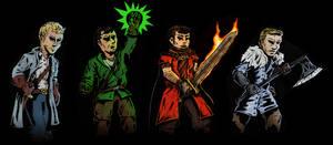 Custom characters 1 by DarkSteelPenguin