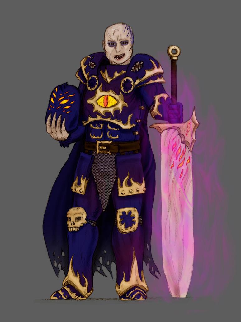 Tzeench Warrior by DarkSteelPenguin
