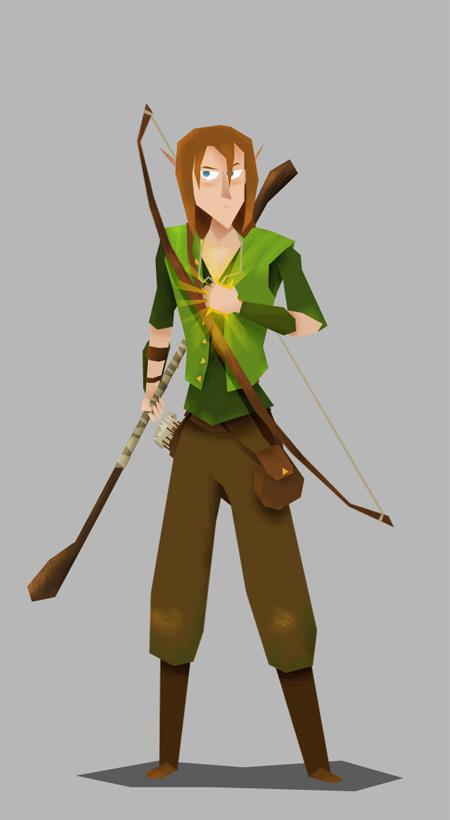 Pelor's elf cleric
