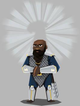 Bahamut's dwarf cleric