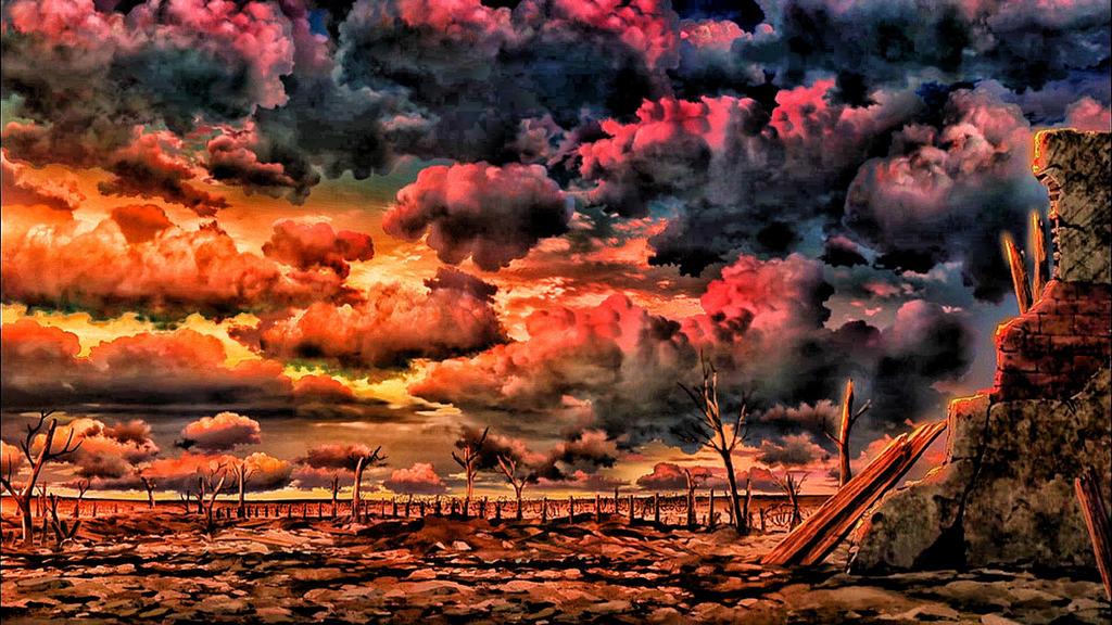 Youjo Senki landscape by Vegetto5