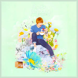 JJ with flowers