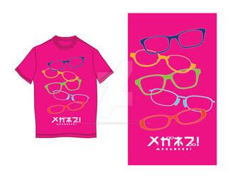 MEGANEBU! T-shirt Design
