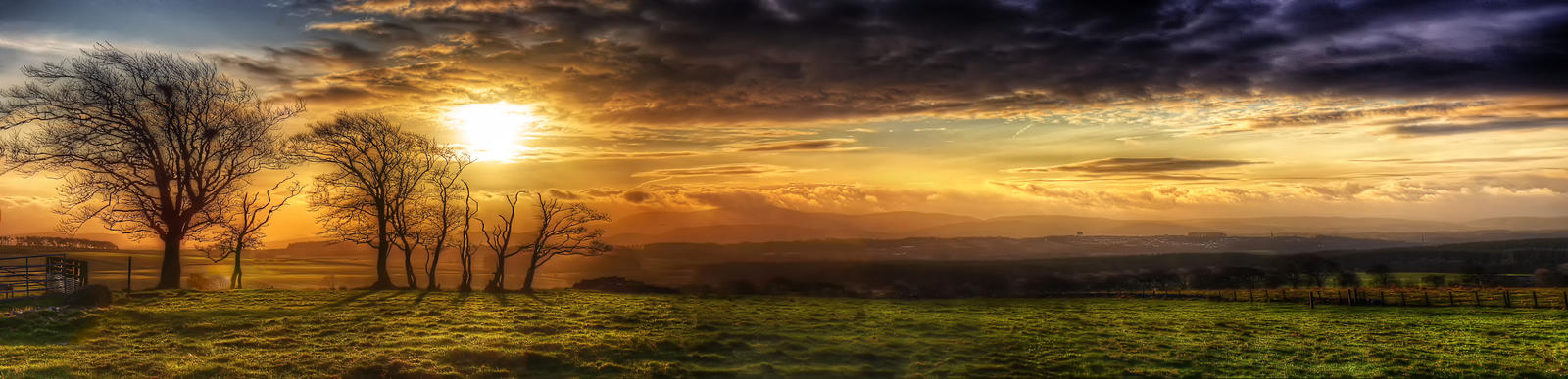 Another new day - panorama by Spyder-art