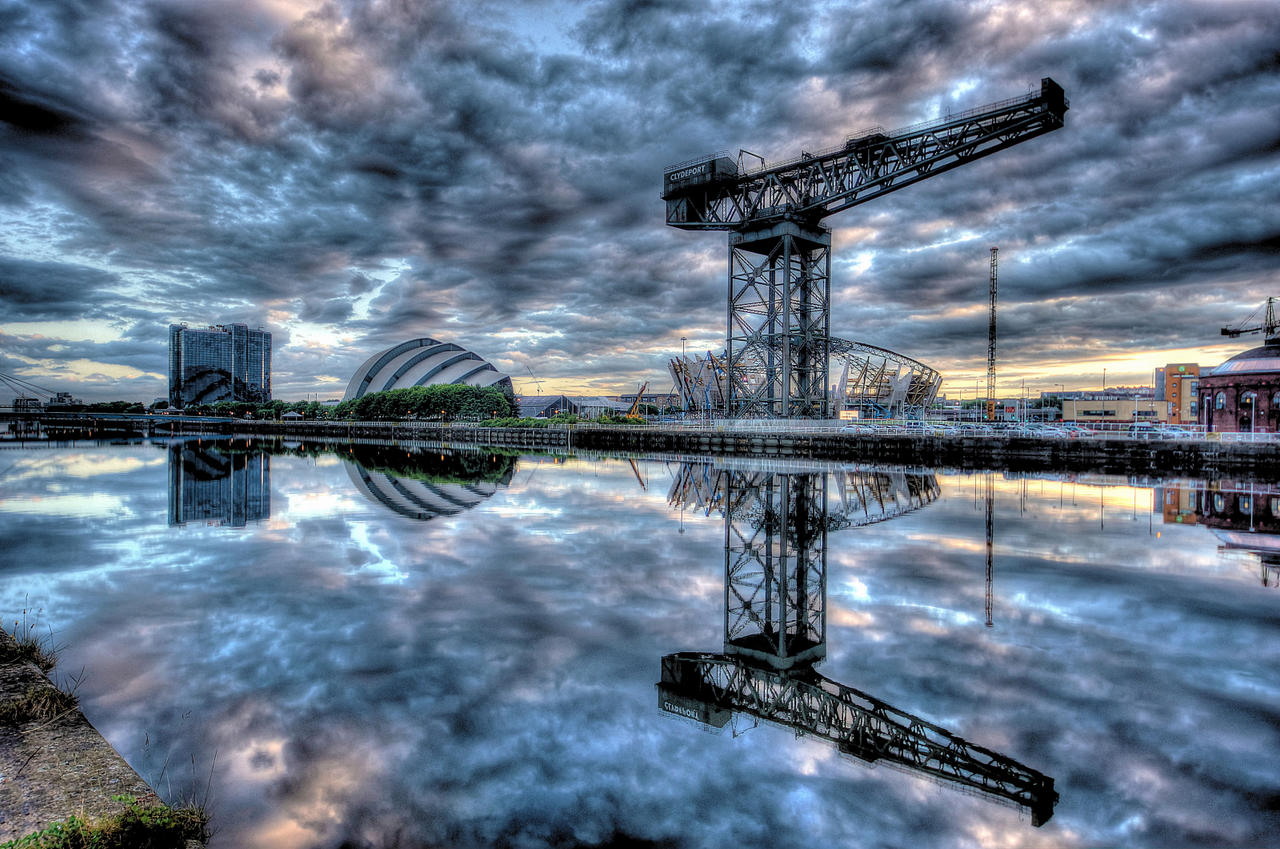 Clyde Morning HDR by Spyder-art