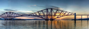 Forth Rail Bridge - Panorama