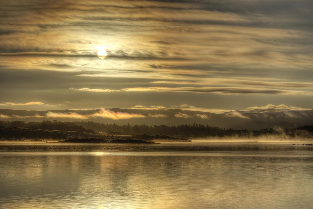 Ardrishaig Morning HDR by Spyder-art