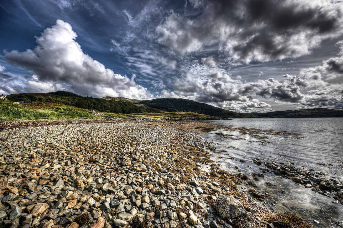 Rocky Highlands Shore by Spyder-art