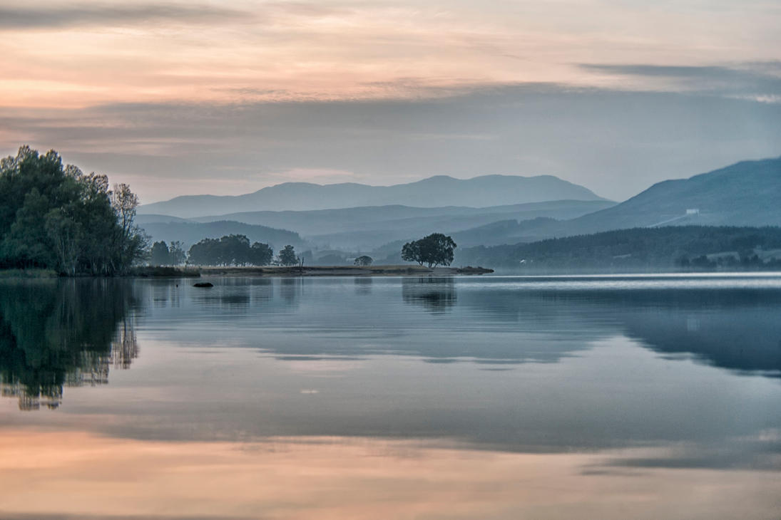 Loch Rannoch by Spyder-art