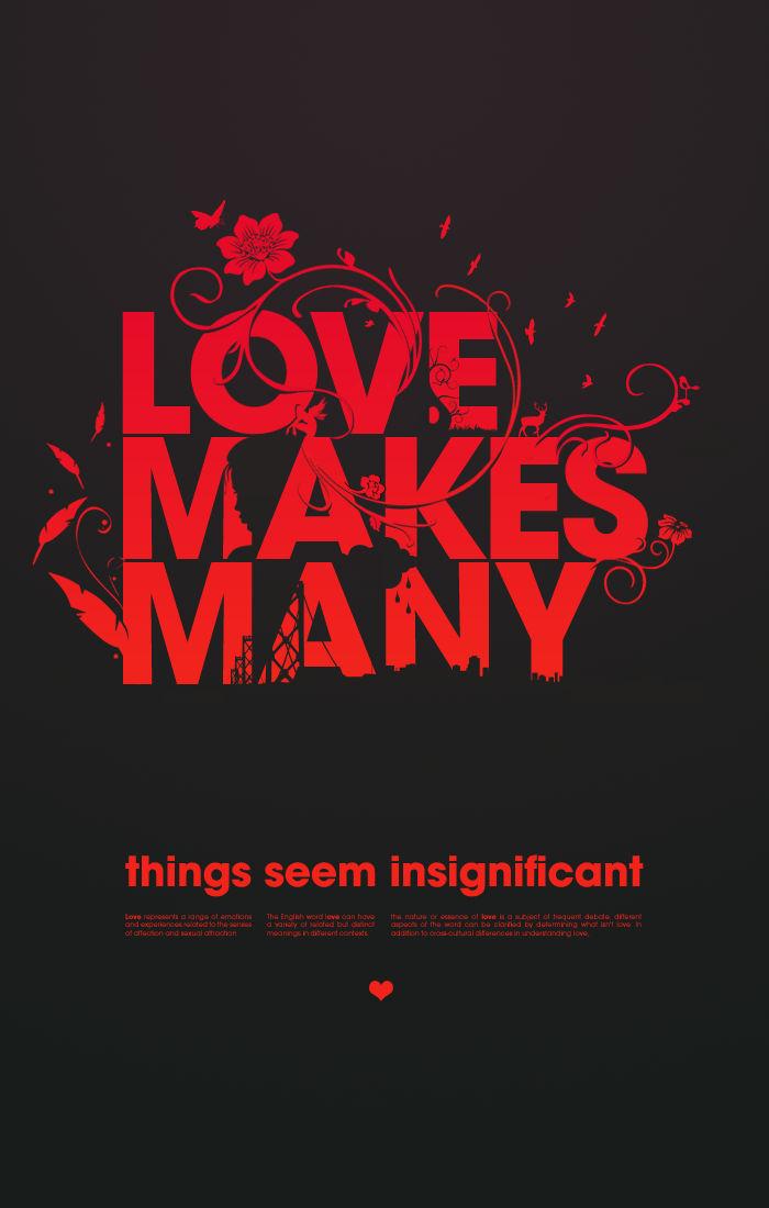 Love Makes Many...