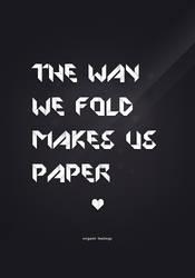 origami feelings