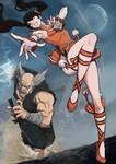Heihachi vs Xiaoyu