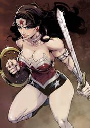 Wonder Woman by DanuskoC