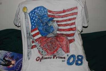 Prime 08 T-Shirt by shaztalion