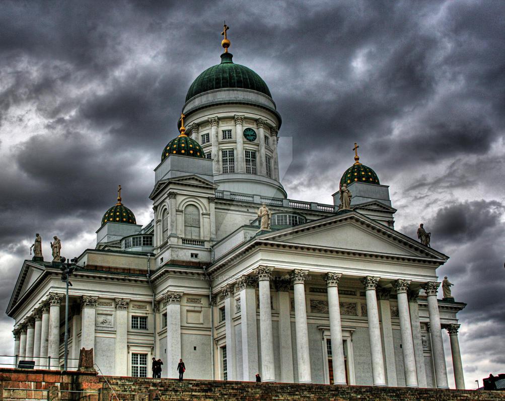 Helsinki Cathedral, Helsingin tuomiokirkko by KalleVictor