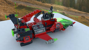 Lego - 6923 - Particle Ionizer M-Tron (Testrender)