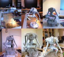 Ryuk progression by Bakenekoya