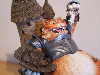 Fattle Cat close up_05 by Bakenekoya